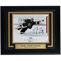$246 » Signed Marc-Andre Fleury Photo - Framed 8x10 Diving Save Fanatics - Fanatics Authentic Certified - Autographed NHL Photos