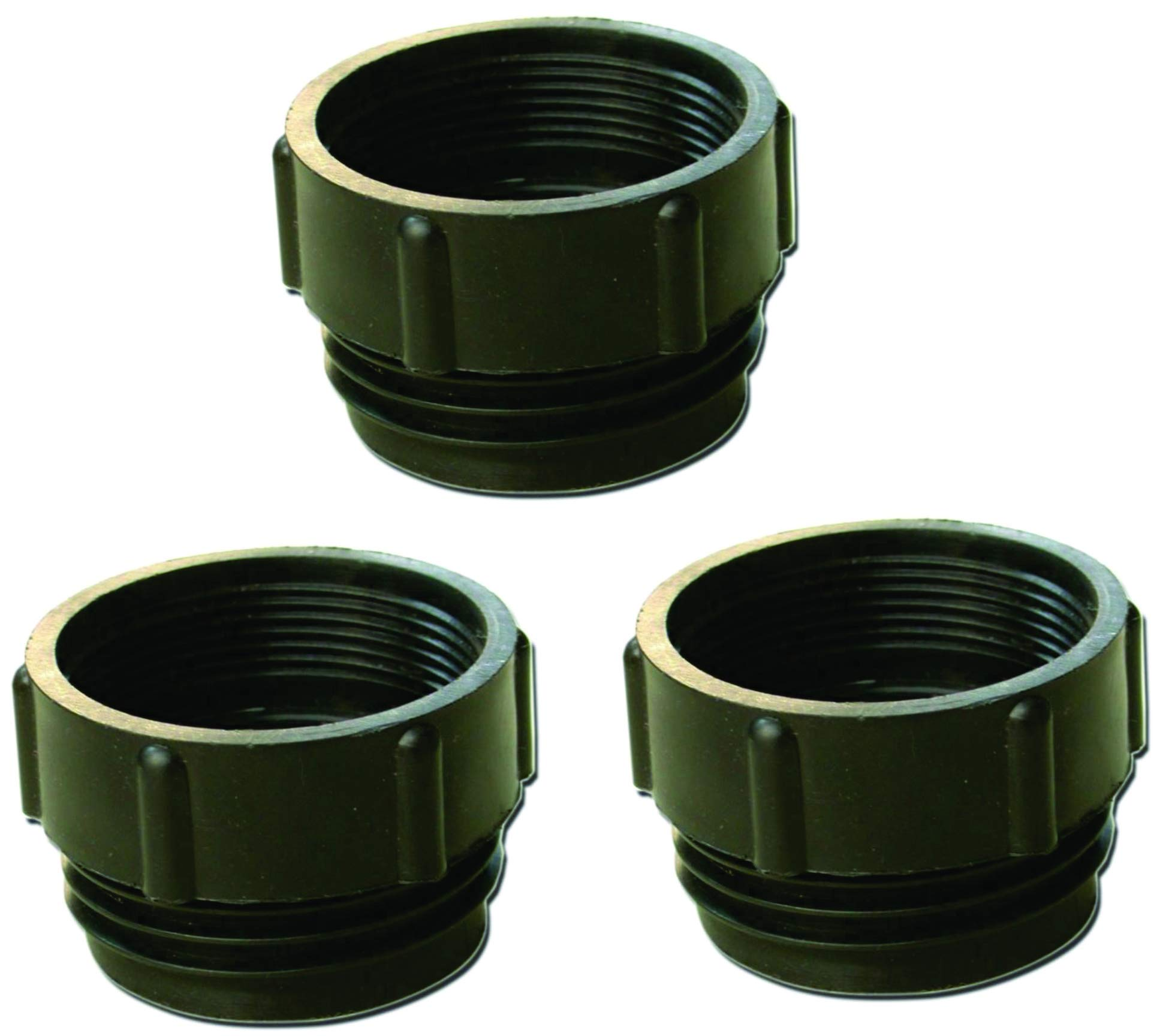 Set of 3 -Dafna 2'' Female NPT x 2'' Male Buttress Bung Adapters
