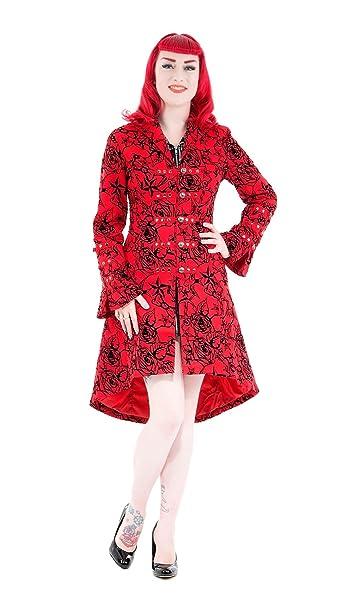 cappotto donna taglio militare gotico