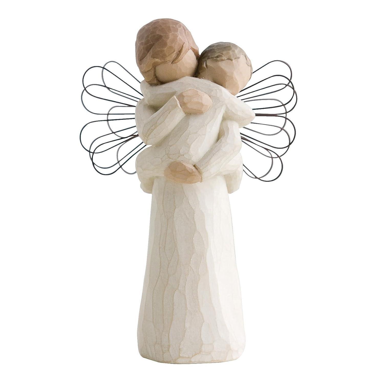 Figura ángel willow tree madre-hijo
