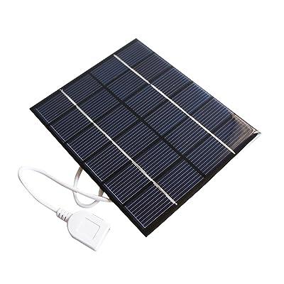 Sunnytech 2w 6v USB Mini Solar Panel Module DIY Polysilicon Solar Epoxy Cell Charger B032: Toys & Games