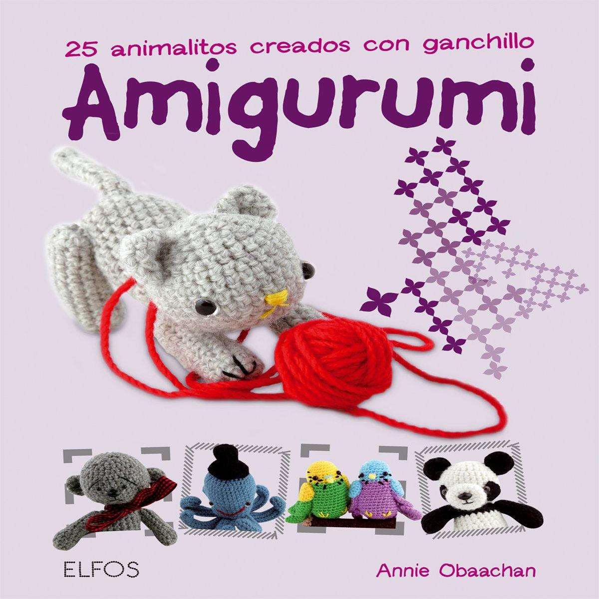 Amigurumi: 25 animalitos creados con ganchillo: Amazon.es: Annie ...