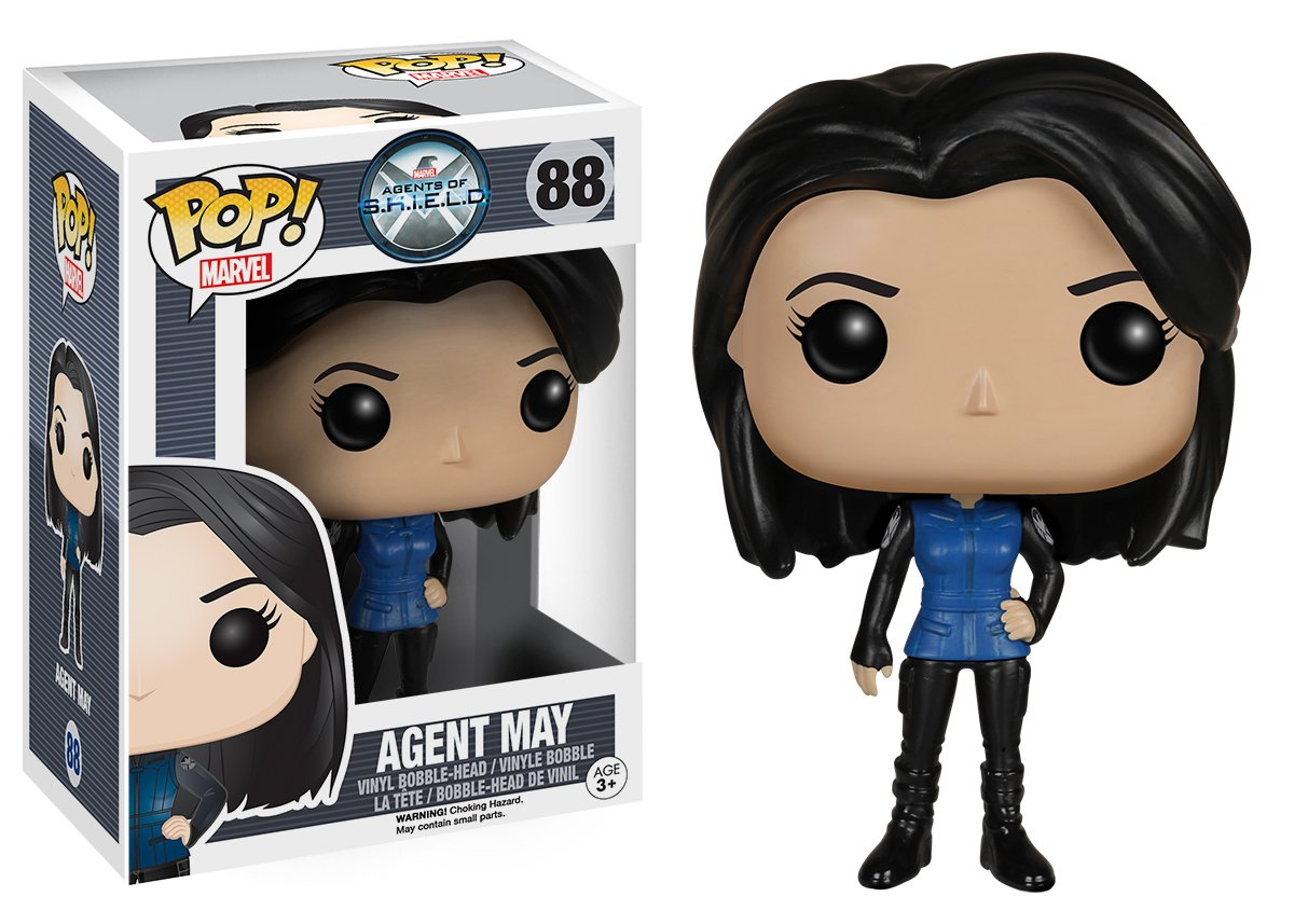 Agents of S.H.I.E.L.D Melinda May Action Figure 5120 Accessory Toys /& Games Funko POP Marvel