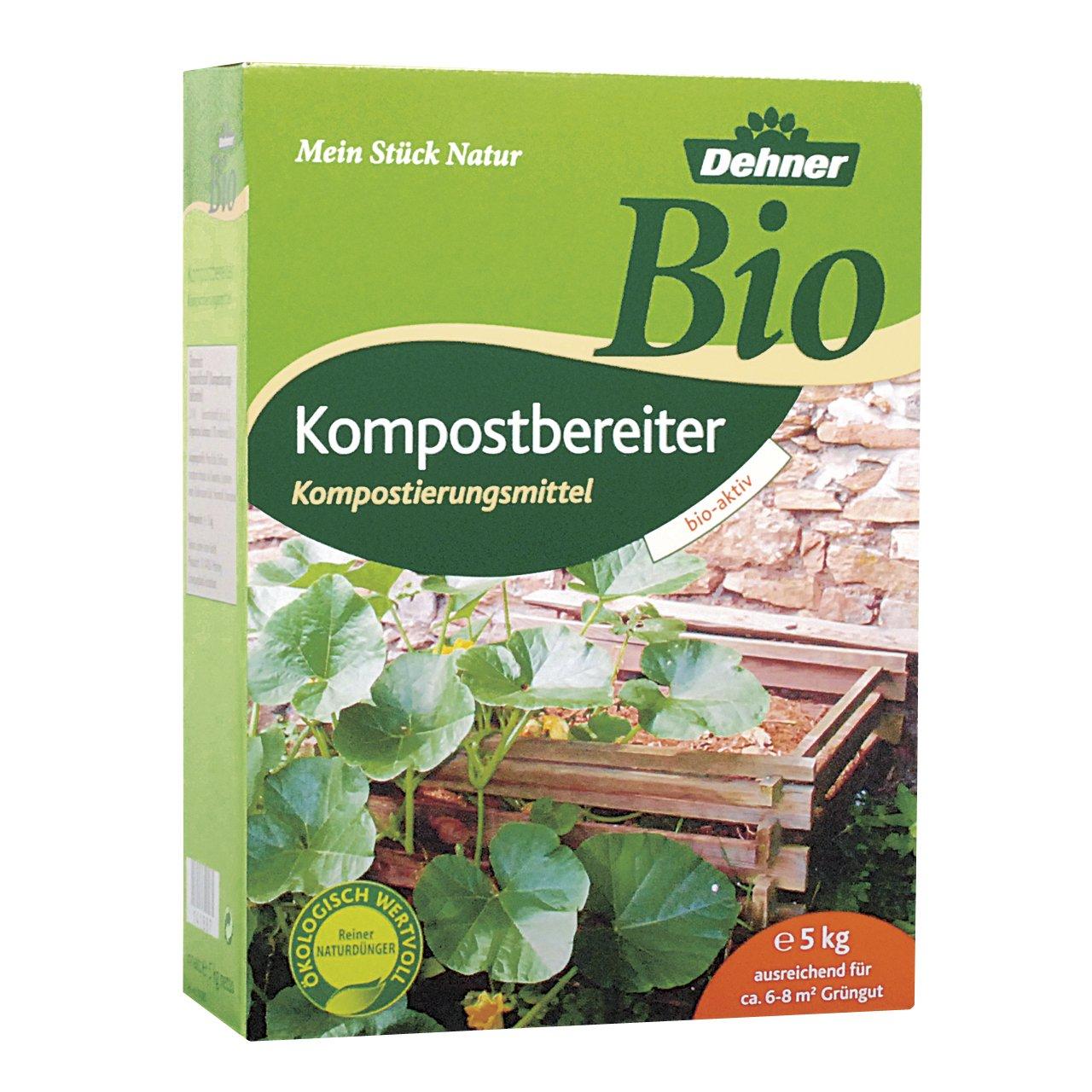 Dehner Bio Kompostbeschleuniger, 5 kg, für ca. 6-8 qm Grüngut von Dehner