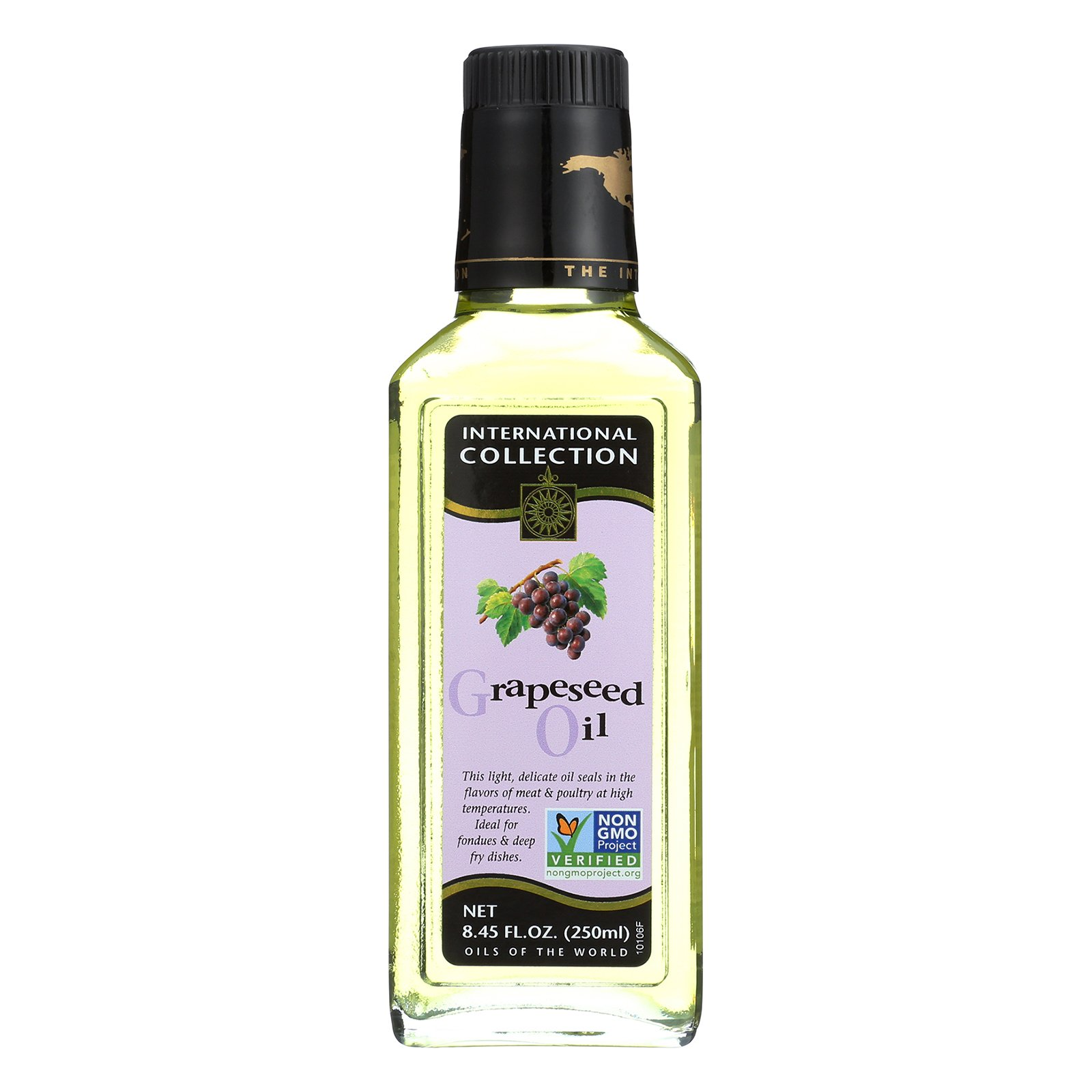 International Collection Grapeseed Oil - Case of 6 - 8.45 Fl oz. by International Collection