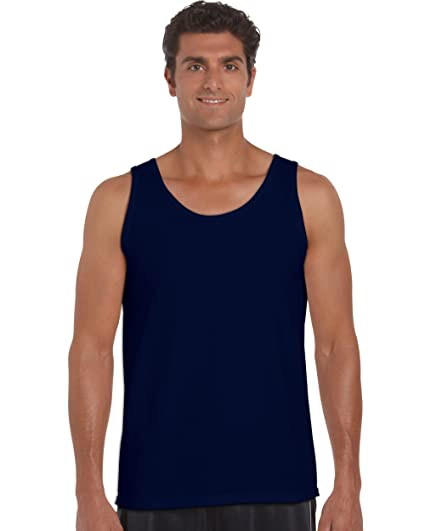 bf1b8641f95d37 Image Unavailable. Image not available for. Color  Gildan 2200- Classic Fit  Adult Tank Top Ultra Cotton ...