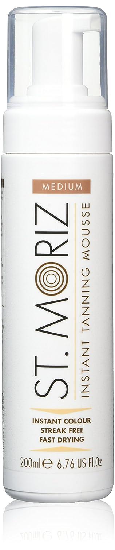 St Moriz 200ml Instant Self Tanning Mousse Medium (Medium Mousse)