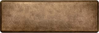 """product image for WellnessMats Leather 3/4"""" Anti-Fatigue Mat - Comfort & Support - Non-Slip, Non-Toxic (Bronze, 6'x2')"""