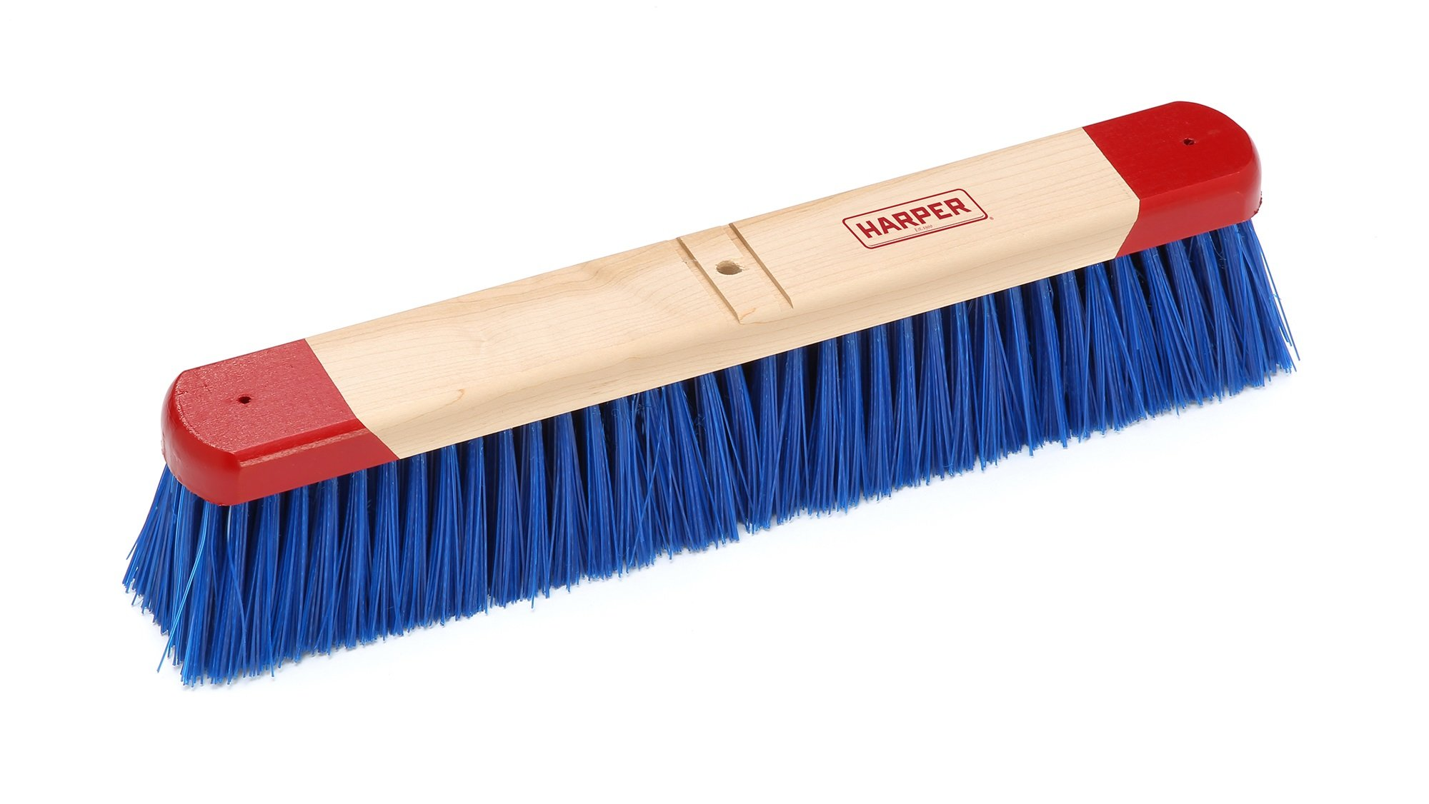 Harper Brush 791812 Broom Head, Polypropylene Fiber, Outdoor, Rough Wet or Dry Surface, Maple, 18'' (Pack of 12)