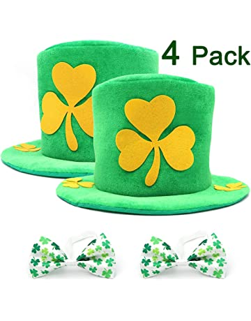 c4ed7ef9e64 PETUOL St. Patrick s Day Decorations Shamrock Hat