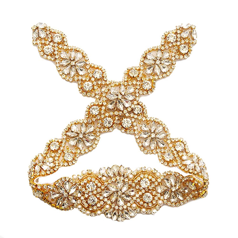 1 Pc Bridal Headwear Wedding Rhinestones Crystal European Style Decor Hair Comb For For Wedding Perfect In Workmanship Wedding Accessories Bridal Headwear