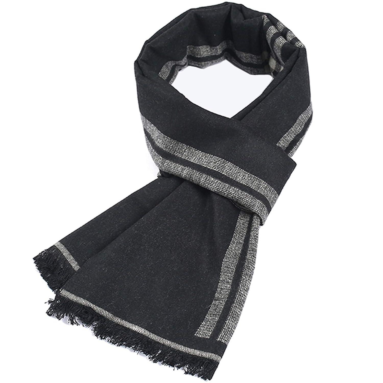 ea559297d41c4e Bekleidung Adisaer Damen Halstuch Cashmere Baumwolle Herren Schal Winter  Plaid Thicken Lätzchen Für Herren