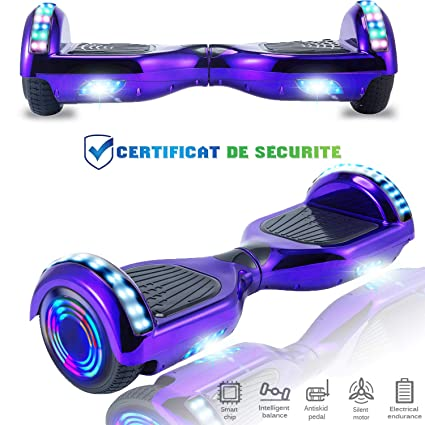 CHIC Hoverboard 6.5 Patinete Eléctrico Bluetooth Monopatín ...