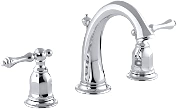 Kohler K 13491 4 Cp Kelston Widespread Bathroom Sink Faucet