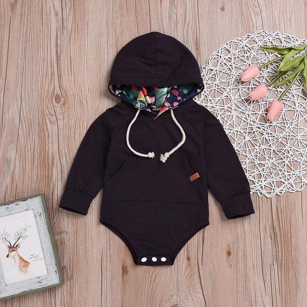 Hose Gemütliche Neugeborene Kind Baby Mädchen Junge Langarm Runder Hals Tops