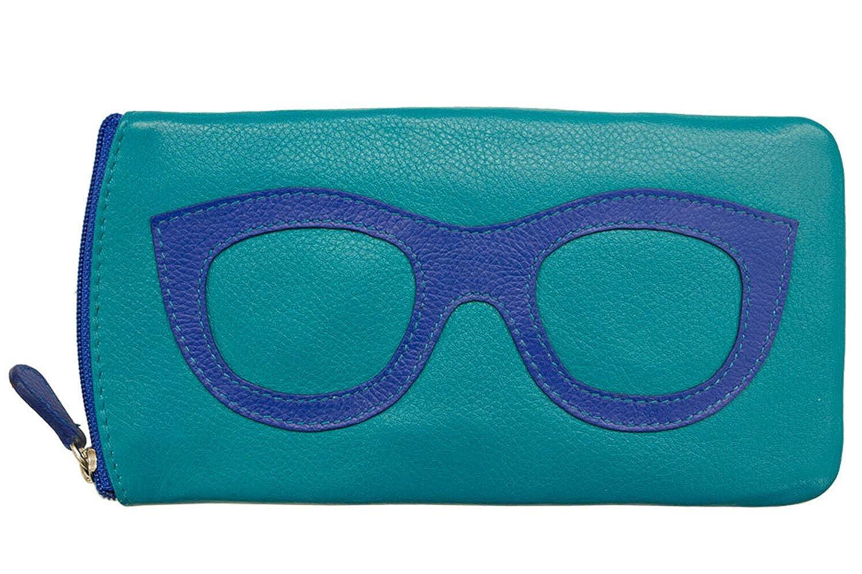 06ebda66baaa ILI 6462 Leather Eyeglass Case (Hot Pink Amethyst)  Amazon.co.uk  Clothing