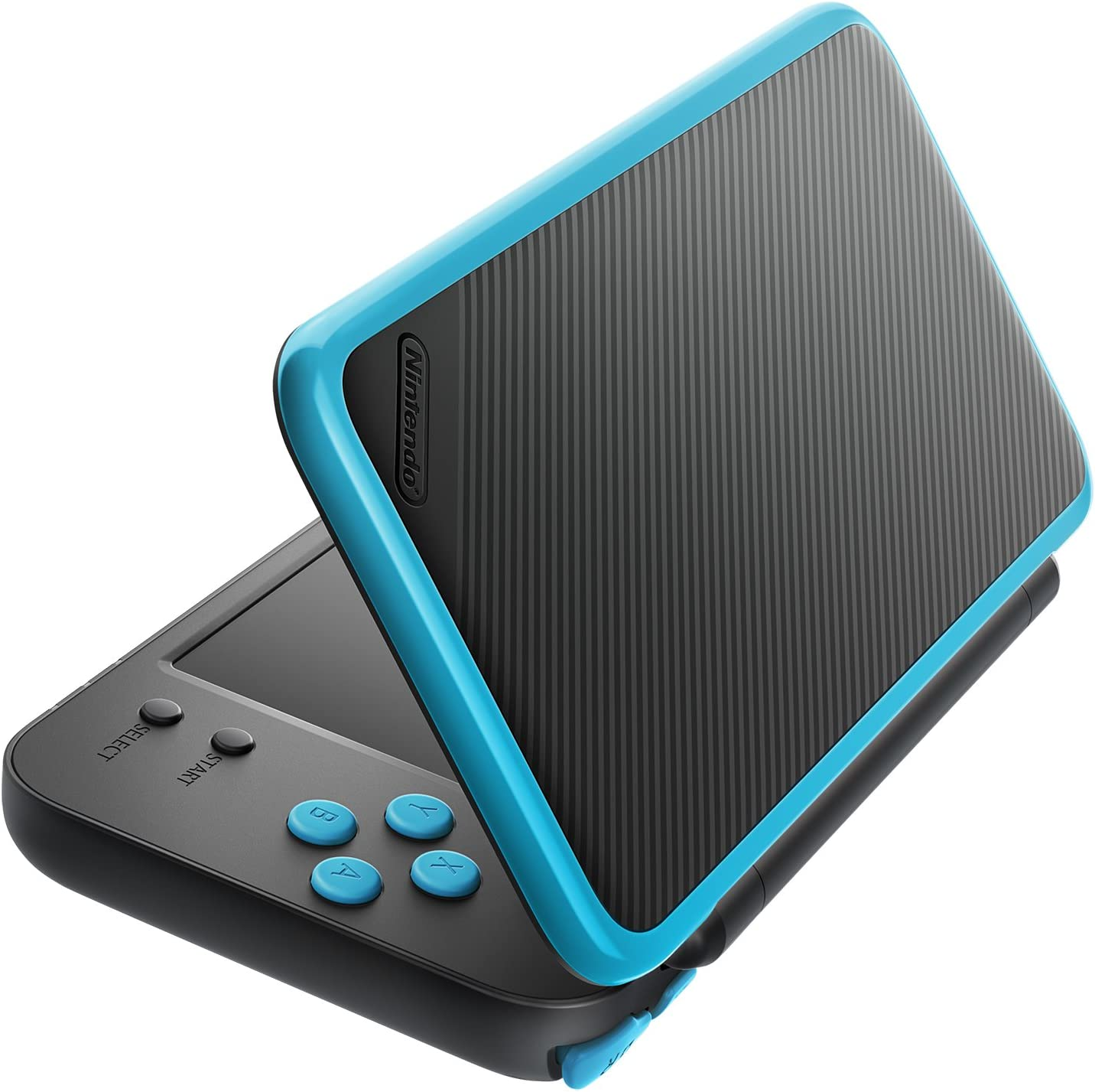Amazon.com: New Nintendo 2DS XL - Black + Turquoise With ...