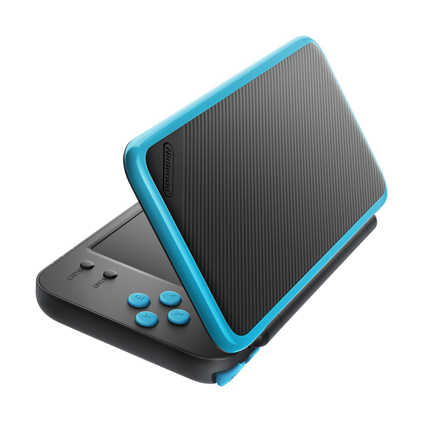 New Nintendo 2DS XL - Black + Turquoise With Mario Kart 7 Pre-installed - Nintendo 2DS by Nintendo (Image #6)