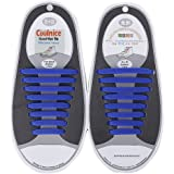 Lacci Scarpe Elastici, Elastico Silicone Scarpe | No Tie Lacci für Trainer, Sportschuhe Sneakers Schuhe Running Schuhe Board Schuhe Stiefel Schuhe und Casual Schuhe