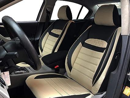 Amazon Es Seatcovers By K Maniac V2513128 Fundas De Asiento Para Mercedes Clase E W211 Universales Color Negro Y Beige