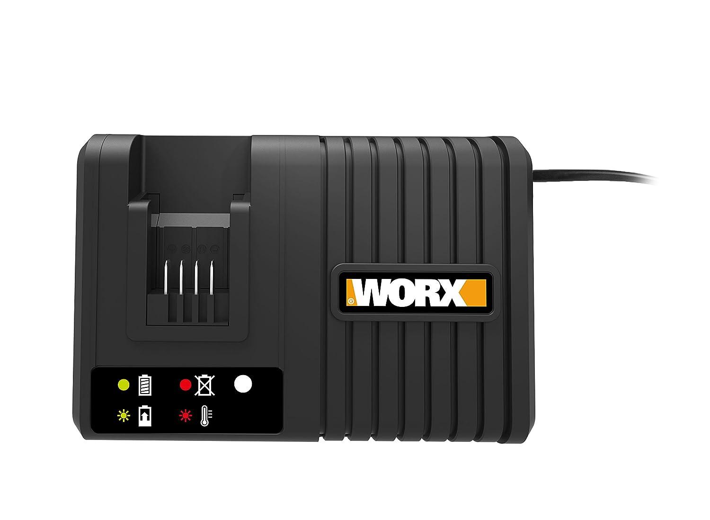 Worx WA3867 Cargador, 120 W, 20 V