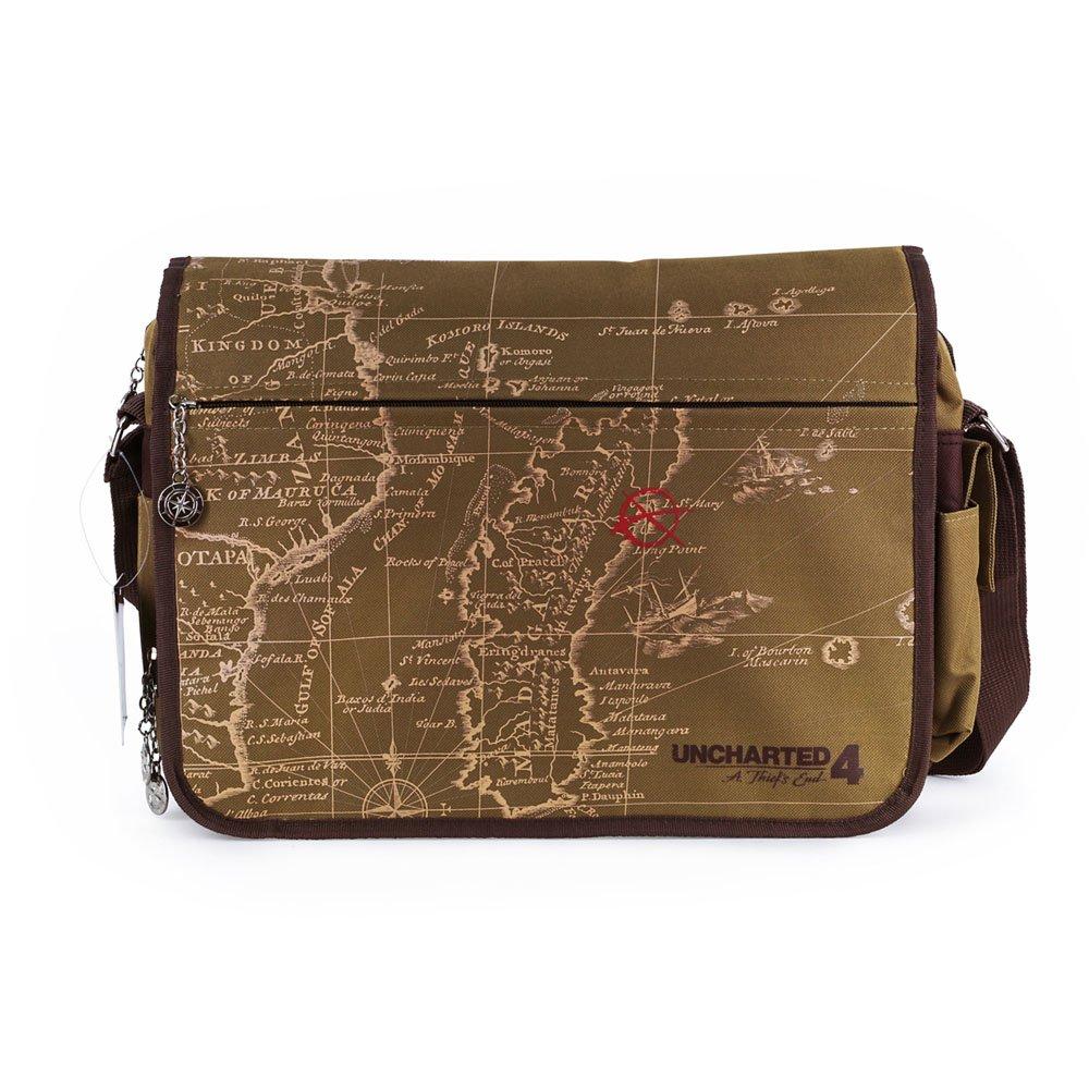 Messenger Bag Gaya Uncharted 4: A Thiefs End Map Design