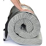 Better Habitat CertiPUR-US SleepReady Memory Foam Floor & Camping Mattress. Twin, Single, Kids. 100% Memory Foam. Roll Out, P