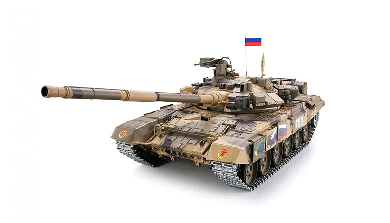 Panzer Russland T-90 Pro 2.4GHz 1:16 Rauch&Sound Metallgetriebe/Metallkette 2.4 GHz Fernsteuerung