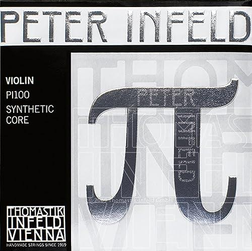 Thomastik Peter Infeld 4/4 Violin Strings Set with Platinum E