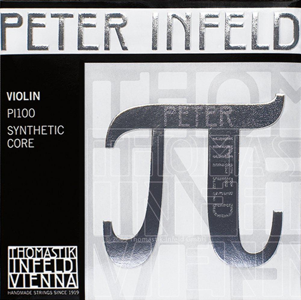 Thomastik Peter Infeld 4/4 Violin Strings Set with Tin E Connolly Music Company PI101