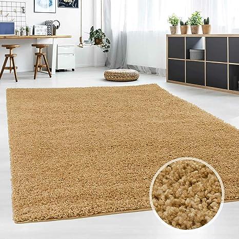 Hochflor Teppich | Shaggy Teppich Fürs Wohnzimmer Modern U0026 Flauschig |  Läufer Für Schlafzimmer, Esszimmer