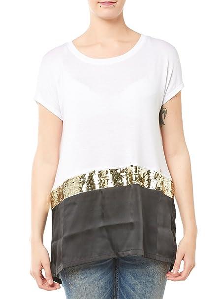 Guess - Camisas - para mujer blanco X-Small: Amazon.es: Ropa y accesorios