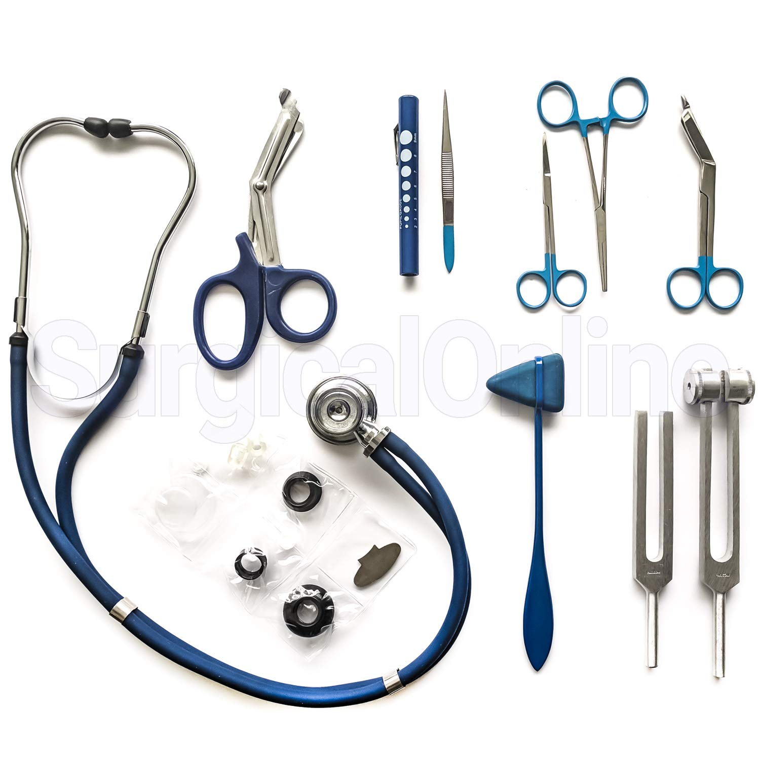 Otoscope /& Ophthalmoscope Set ENT Surgical Instruments