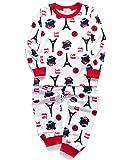 DHASIUE Cartoon Girls Pajamas Cotton Long Pajama