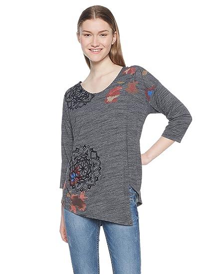Accesorios uma Shirt Ts MujerRopa T Y Desigual 0mwN8n