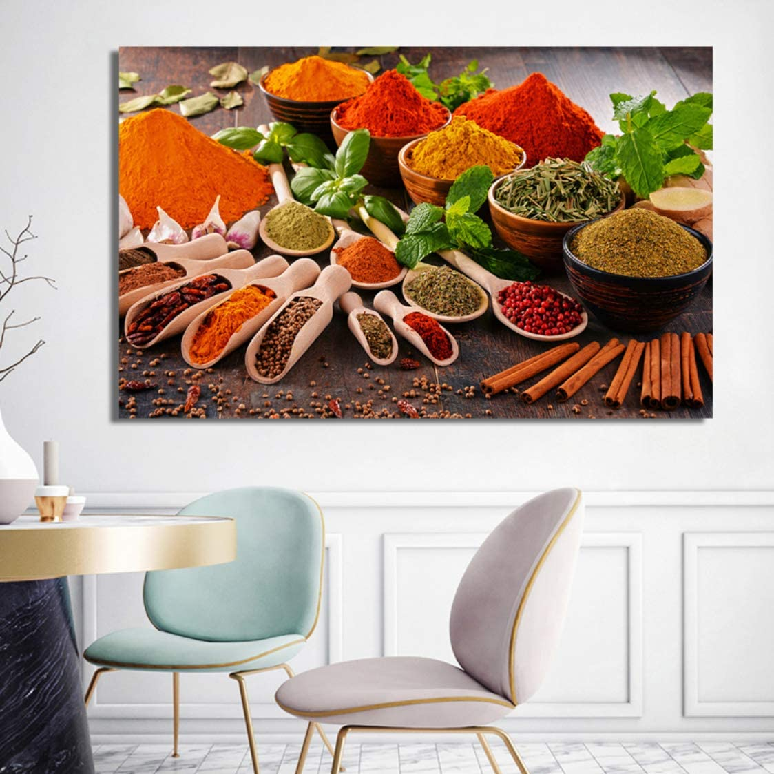 Danjiao Carteles E Impresiones Arte De La Pared Lienzo Pintura Frutas Verduras Y Condimentos Cuadros Decorativos Para El Comedor Decoración Para El Hogar Regalos Decor Del Dormitorio 60x90cm