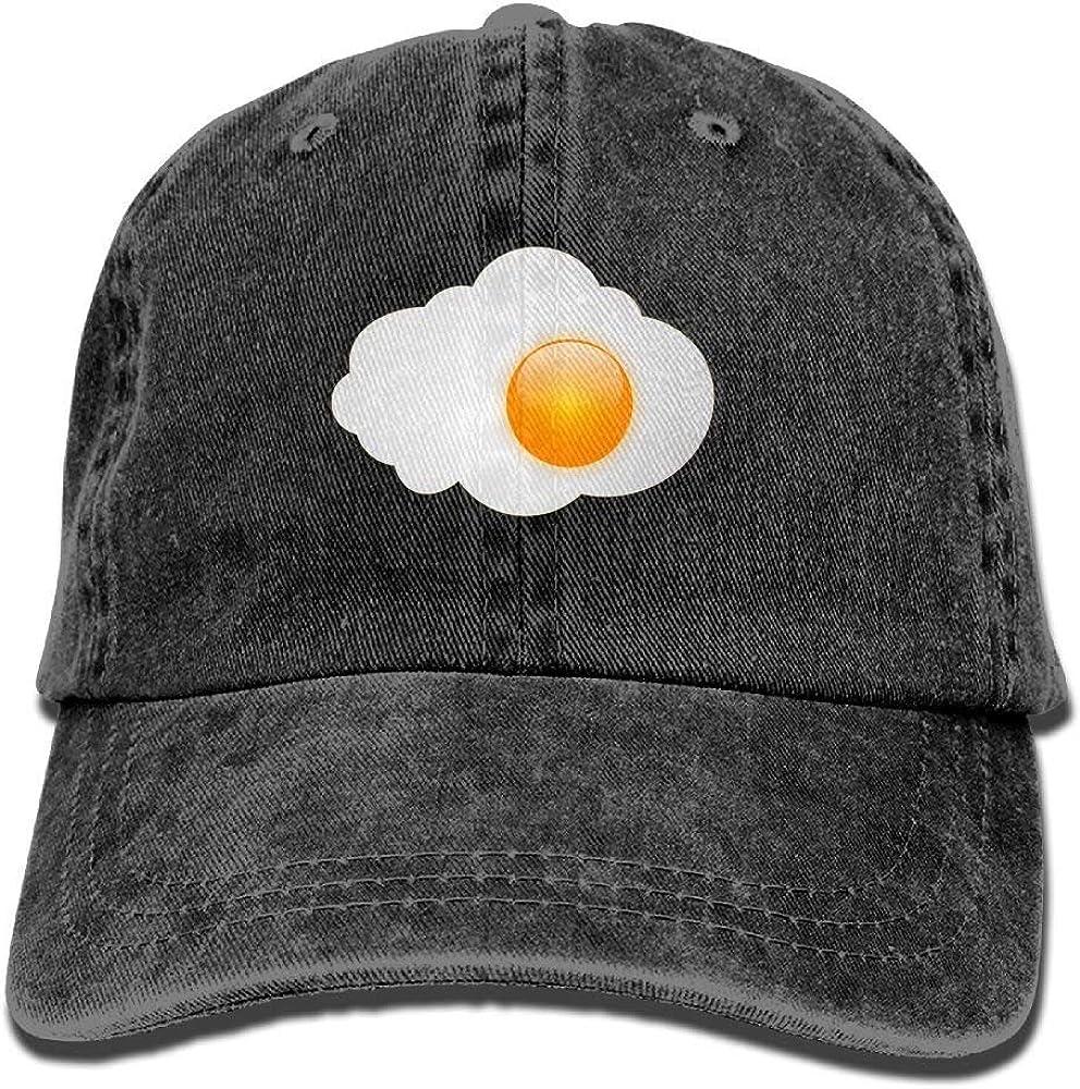 Aishay - Gorro de algodón Ajustable, diseño de Huevo Frito, Color ...