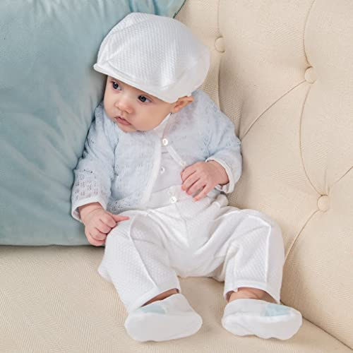 baabd46850c Image Unavailable. Image not available for. Color  Boys Baptism Suit ...