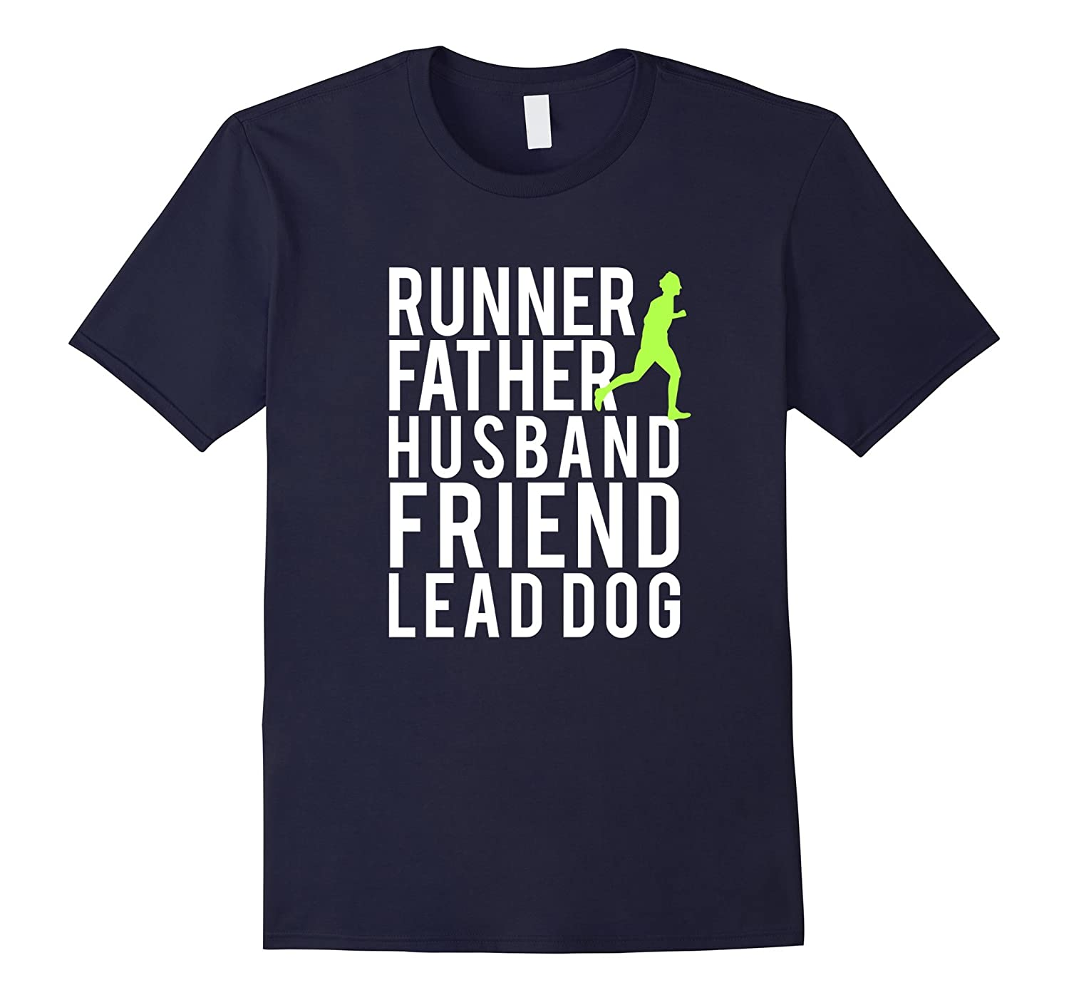 Mens Fathers Day Gift T-Shirt for Runner Dads Mens Fitness Shirt-Vaci