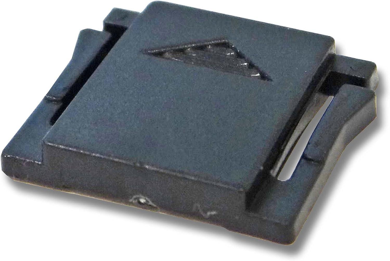 vhbw Blitzschuh Abdeckung Kunststoff f/ür Kamera Olympus E-500 E-520.