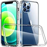 Luckymore Compatible with iPhone 12 Pro Max Case, Clear 2020 iPhone Pro Max Case 6.7 Inch