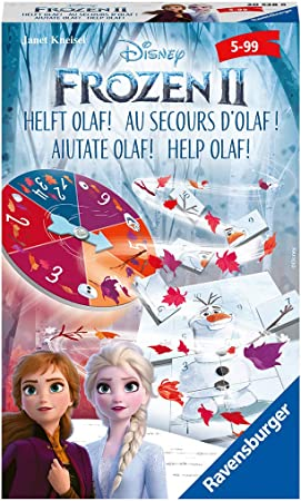 Ravensburger 20528 Frozen 2 Helft Olaf! - Juego de Regalo para la película de Cine La Reina de Hielo 2