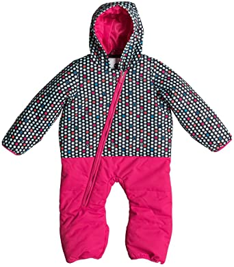 cb117eb62 Amazon.com: Roxy Rose Baby Snowsuit Girl's Sz 3-6M: Clothing