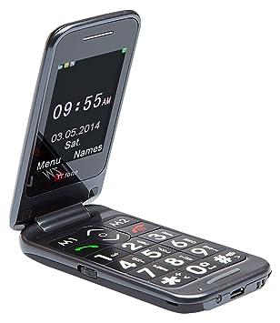 TTfone Venus 2 TT31 - Teléfono móvil con teclas grandes, color negro: Amazon.es: Electrónica