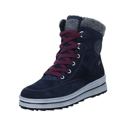 ara Shoes ST-Anton Damen Winterstiefel Größe 37 Blau (Blau) afda51c8db
