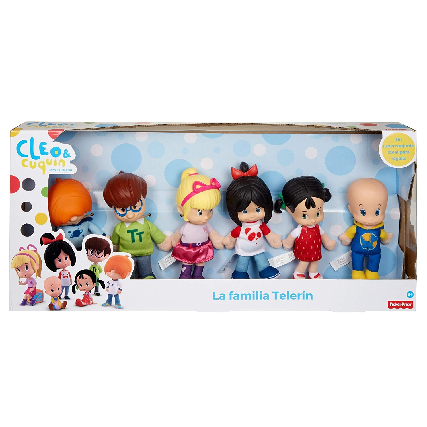 cleo and cuquin pack of sisters family telerin dolls multi colour