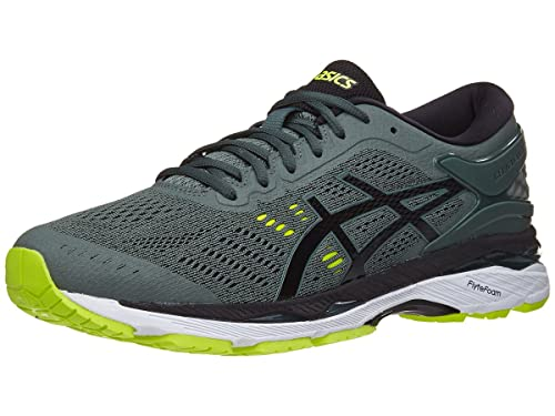 5de4840a412f ASICS Gel-Kayano 24 Running-Shoes Dark Forest Black Yellow 14 D(M) US  Buy  Online at Low Prices in India - Amazon.in