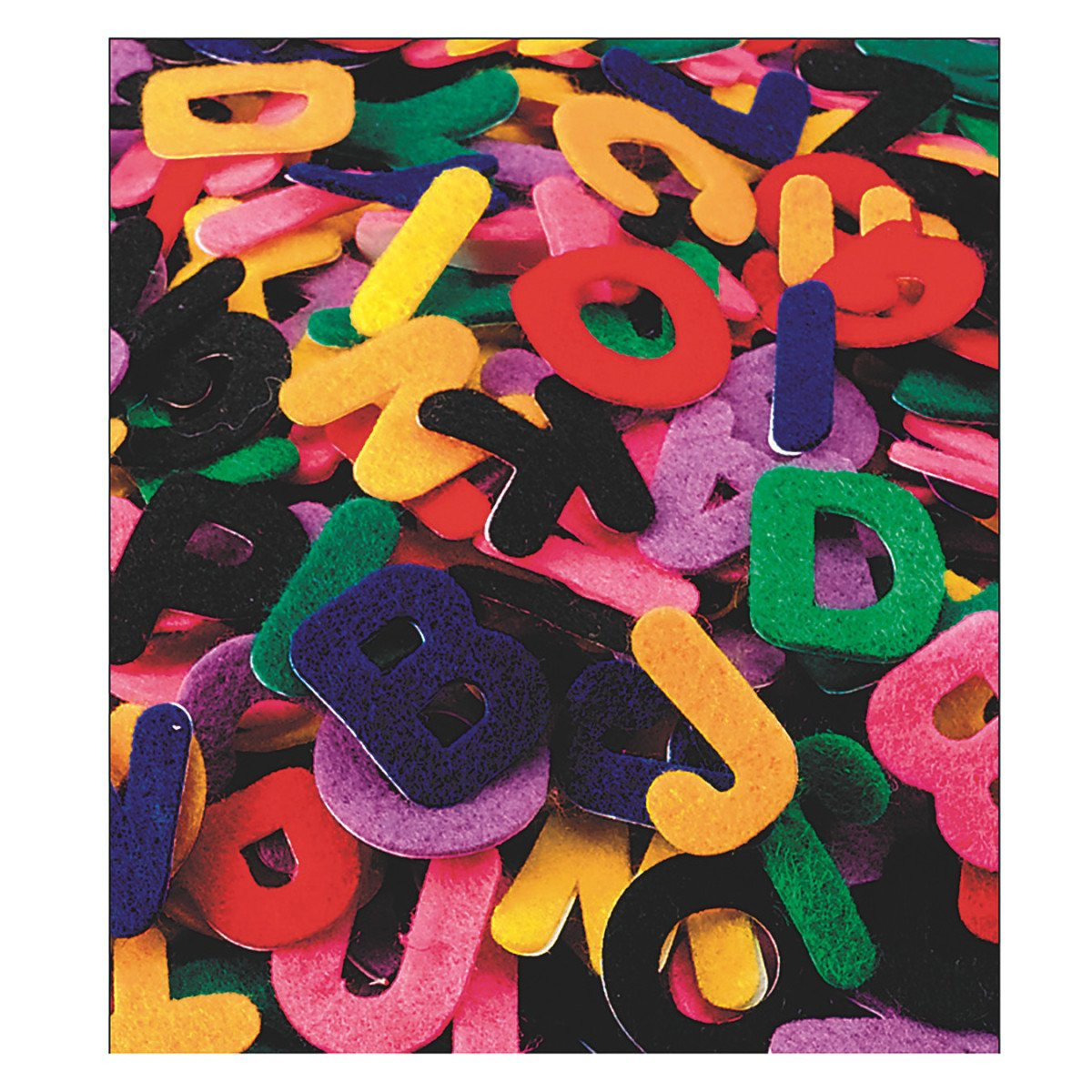 S&S Worldwide Felt Adhesive Letters, 1'' (pack of 500)