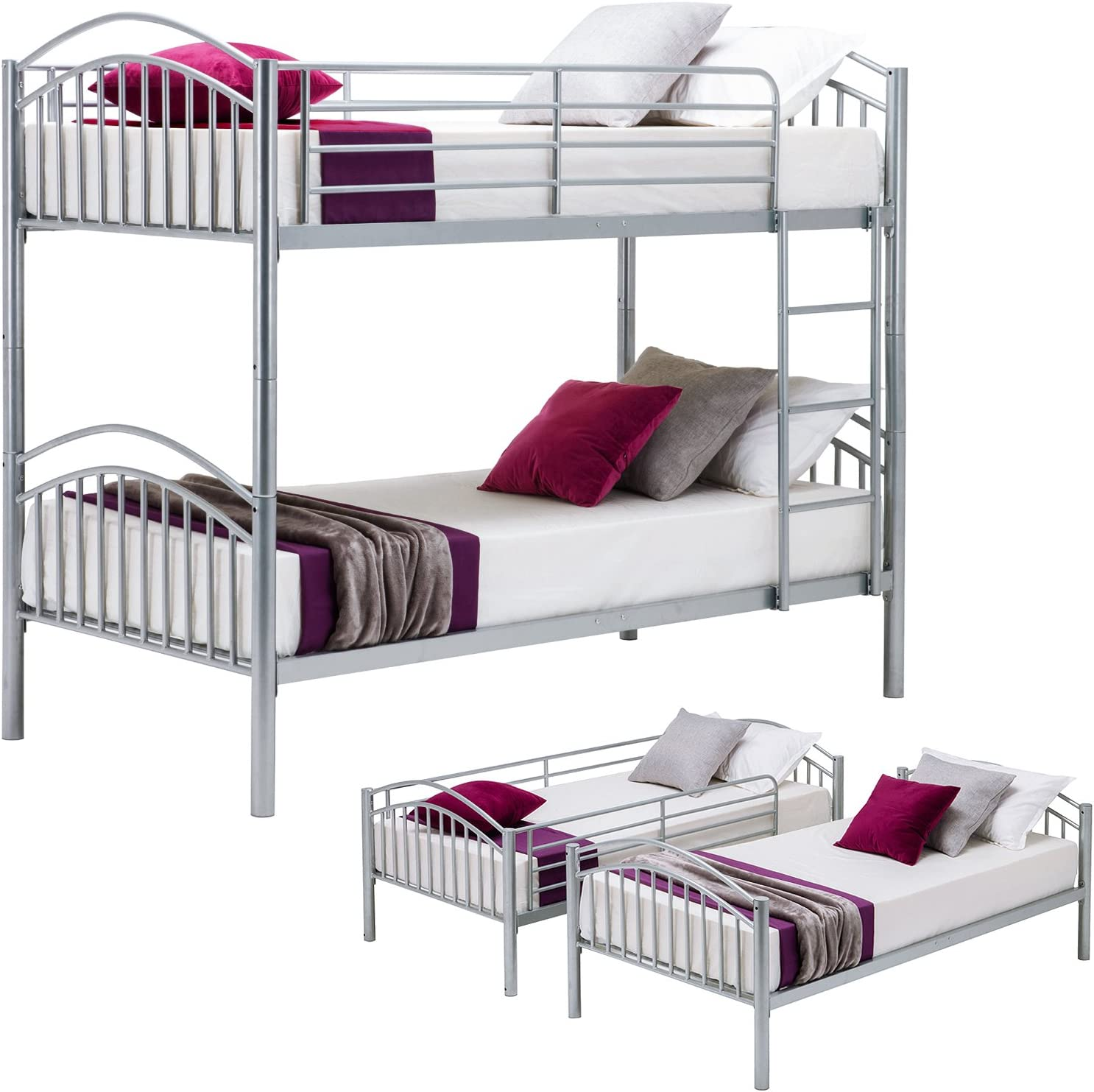 Download Metal Bunk Beds PNG