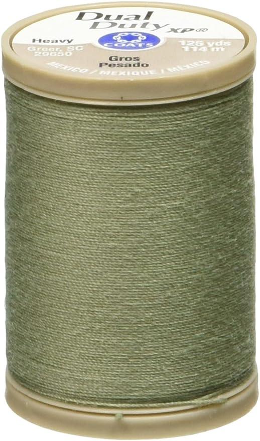 2-Pack COATS /& CLARK Dual Duty XP Heavy Thread 125-Yard Chona Brown